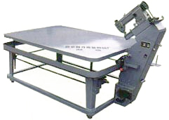 Model FB-1 Mattress Tape Edge Machine