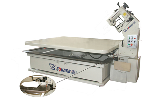 Model FB6 Table Auto-turning Mattress Tape Edge Machine